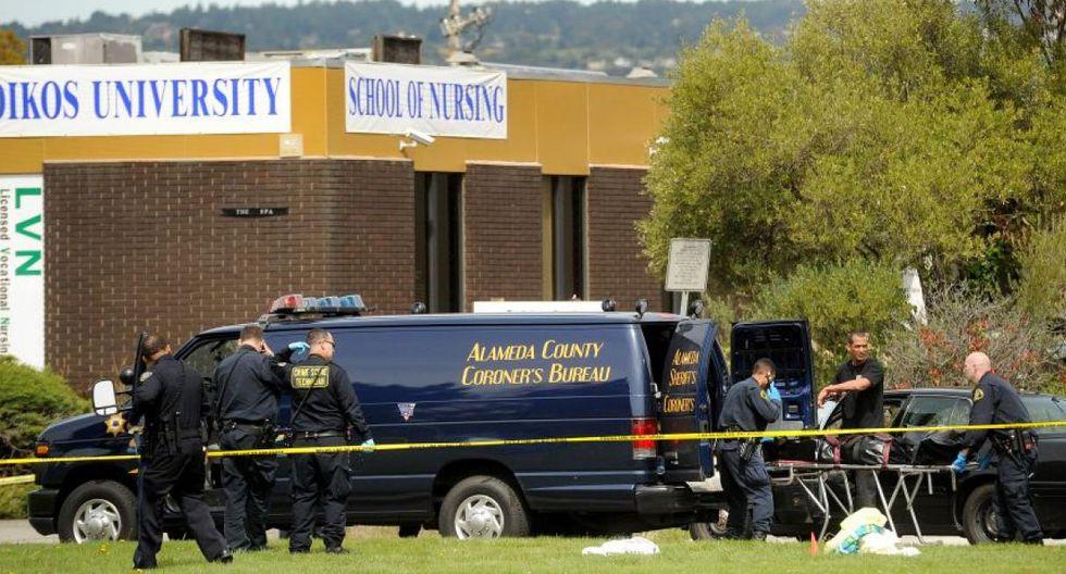 ► 2 abril de 2012 | Siete personas murieron y tres resultaron heridas en un tiroteo en una universidad privada en Oakland, en el estado de California.