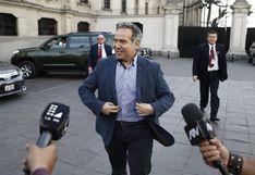 "Petrozzi asegura que ""por el momento"" continuará como ministro de Cultura"