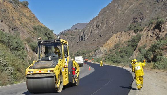 El MTC inyectó recursos para obras viales. (Foto: MTC)