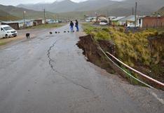 Huancavelica: declaran en emergencia a la región debido a desastres por lluvias