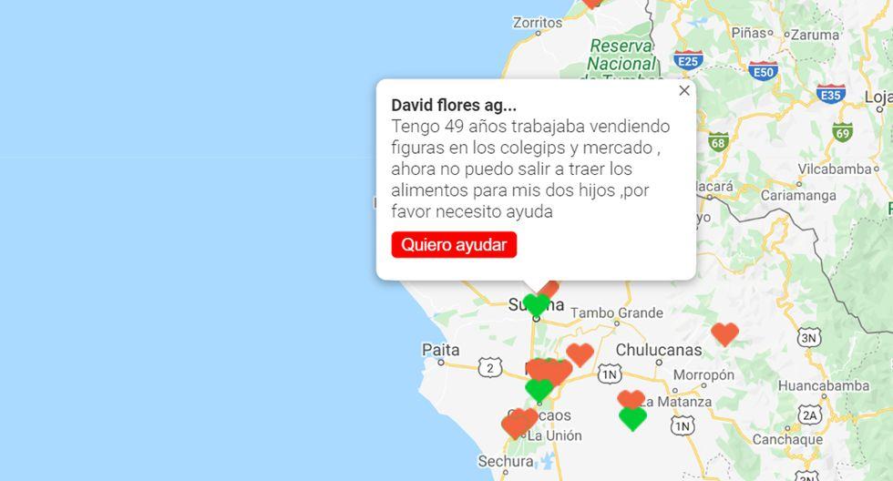 Coronavirus Perú | Mapa19.pe | Conoce el mapa para ayudar a ...