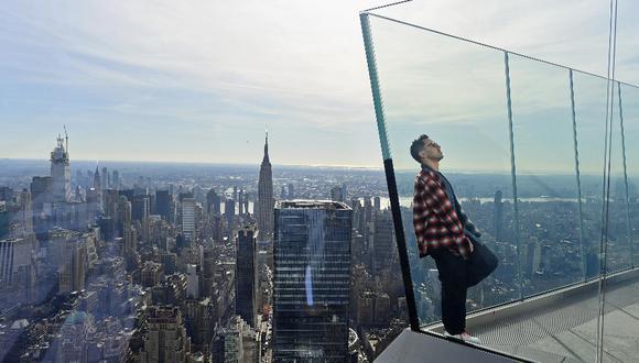 El observatorio está en el piso 100 del 30 Hudson Yards, un rascacielo de oficinas.