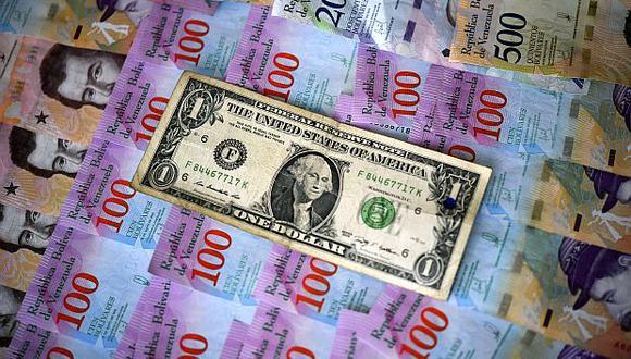 El precio del dólar en Venezuela operaba al alza este lunes 21 de septiembre. (Foto: AFP)