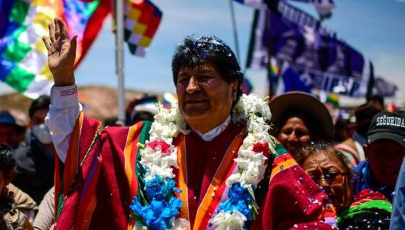 Evo Morales. (GETTY IMAGES).