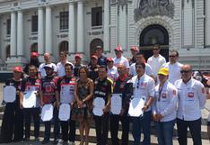 Dakar 2019: Pilotos peruanos recibieron homenaje en el Congreso