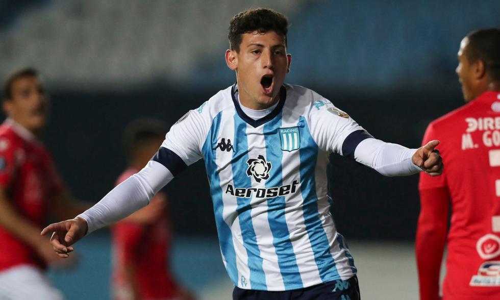 Racing chocó ante Rentistas en el Cilindro por la jornada 6 de la Copa Libertadores | Foto: AFP