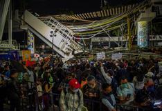 """""""Esto pasó por negligencia, por corrupción"""": Manifestantes exigen justicia tras la tragedia en el metro de México"""