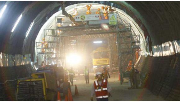 Las obras de la Línea 2 del Metro de Lima se paralizaron desde mediados de marzo hasta inicios de julio, debido a la pandemia.