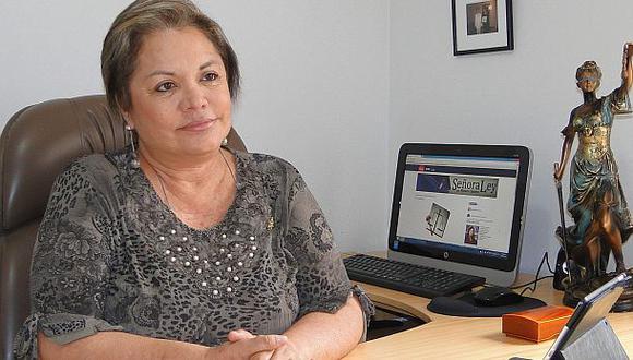 Rosario Sasieta confirma que va al Congreso con Alianza Popular