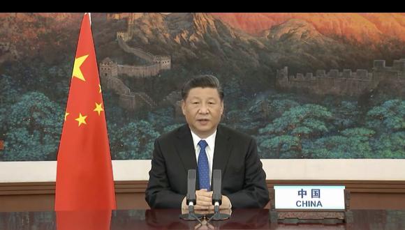 El presidente chino Xi Jinping anunció la buena nueva en su mensaje ante la Asamblea General de la ONU. (AFP / World Health Organization)