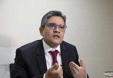 José Domingo Pérez recibió resguardo policial el 13 de mayo, confirma el Ministerio Público