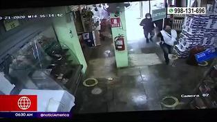 SMP: Mujer recibió un balazo en la pierna tras asalto en minimarket