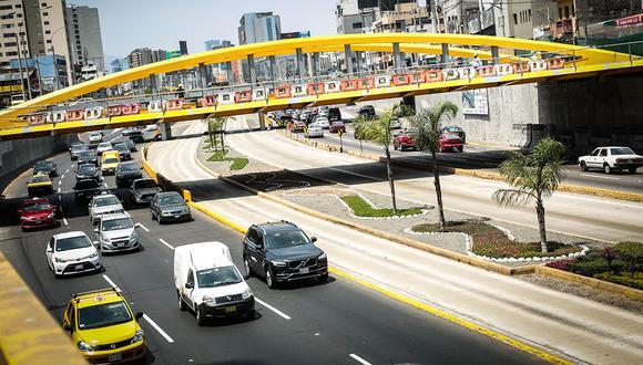 En marzo de 2018, la Municipalidad de Lima inició la construcción de los puentes vehiculares. (Diana Chávez)