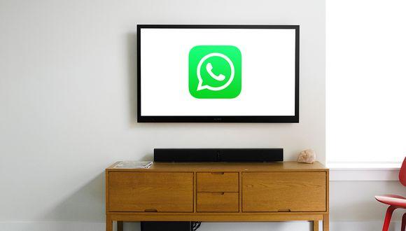 ¿Quieres iniciar sesión de WhatsApp en tu televisor y desde allí ver y chatear con todos tus amigos? (Foto: WhatsApp)