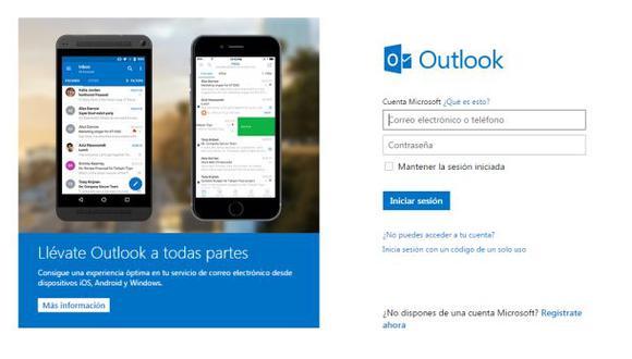 Outlook alertará si un gobierno accede ilegalmente a cuentas
