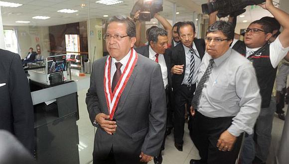 Fiscal de la Nación negó politización de investigación a Toledo