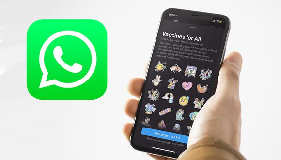 ¿Quieres estos stickers de WhatsApp? Conoce cómo conseguirlos. (Foto: MAG)