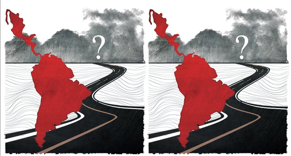 """""""Es evidente que fenómenos tan complejos no tienen una sola explicación. Pero es innegable que hay un factor que está presente en todos los casos: el carnaval de la gran corrupción"""". (Ilustración: Rolando Pinillos Romero)"""