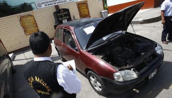 La Policía recuperó 1.200 autos robados en lo que va del 2015