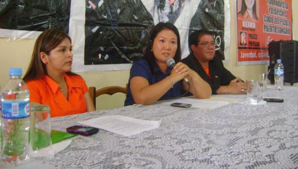 Keiko no podría asistir a cita de líderes en Palacio