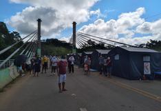 Coronavirus en Perú: 56 peruanos se quedaron varados en la frontera con Brasil en Madre de Dios