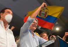 """Guillermo Lasso se declara ganador de las elecciones en Ecuador: """"Es un día histórico"""""""