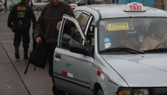 Gremios de taxis colectivos de Lima y Callao garantizaron que la movilización será pacífica. (Foto: Referencial/Andina)