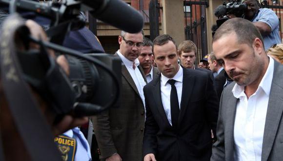 """Pistorius baleó a su novia: """"No lo hice de forma deliberada"""""""