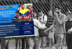 Ica: polémica por 'empadronamiento obligatorio' de venezolanos en Pisco