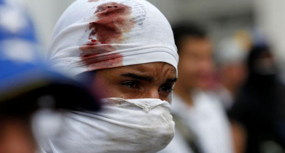Venezuela: Duros choques durante marcha opositora en Caracas