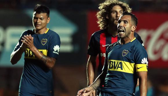 Boca Juniors, de Carlos Tevez, llegará al Perú para enfrentar a Alianza Lima con algunas bajas importantes. (Foto: AFP)