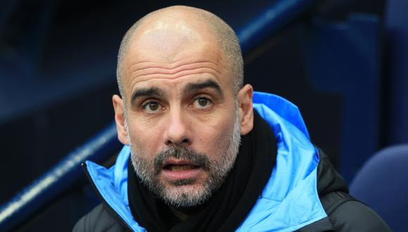 Pep Guardiola llegó al Manchester City tras su paso por Bayern Munich. (AFP)