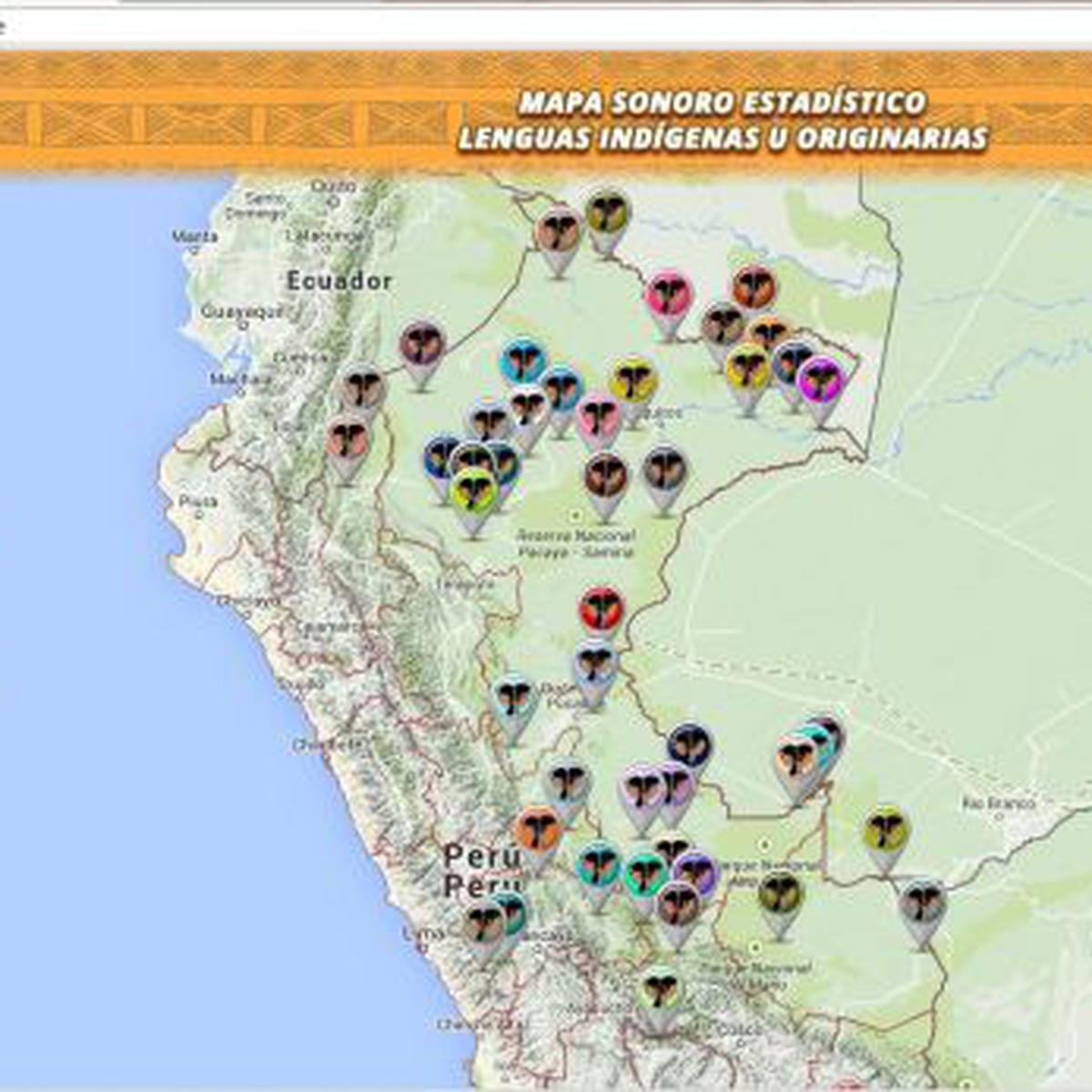 Presentan Mapa Sonoro De Las 47 Lenguas Indígenas Del País Lima El Comercio Perú