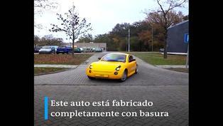 Conoce el carro fabricado a base de basura
