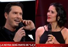 """""""La Voz Kids"""": Así reaccionó Cristian Rivero al enterarse que Gianella Neyra es la nueva conductora"""