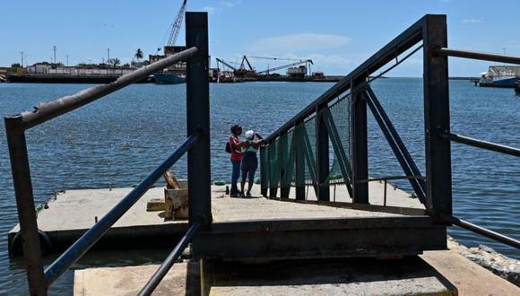 La travesía desde Güiria hasta la isla de Trinidad está llena de peligros, sobre todo en los precarios botes que usan las bandas de tráfico de personas. (Foto: GETTY IMAGES, vía BBC Mundo).