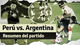 Argentina 1-0 Perú: resumen del partido por Eliminatorias Qatar 2022