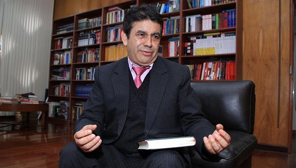 """""""No me opongo a que se investigue, porque no tengo nada que ver"""", señaló Tomás Gálvez, pese a los dos recursos que presentó ante la Junta Nacional de Justicia. Una de ellos, para que se inhiba de seguir el caso, fue desestimado. (Foto: GEC)"""