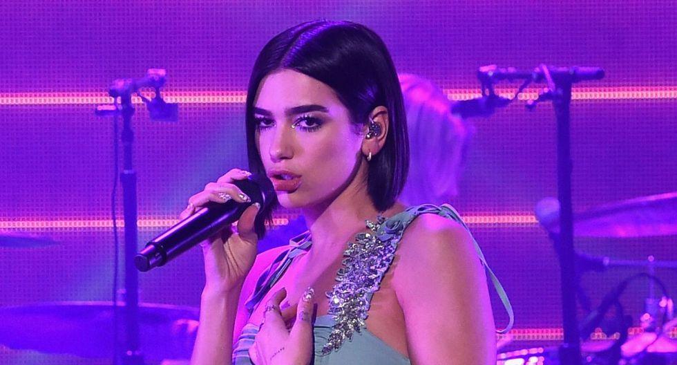 Con respecto a su música, Dua Lipa fue influenciada por Nelly Furtado y Pink. (AFP)