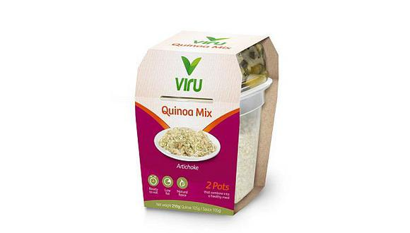 Virú exporta alimentos listos para comer en base a la quinua