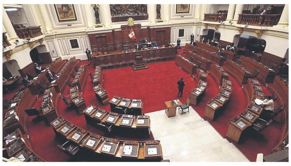 El Congreso tiene una comisión especializada para hacer seguimiento a todas las acciones tomadas contra el COVID-19. (Foto: Difusión)