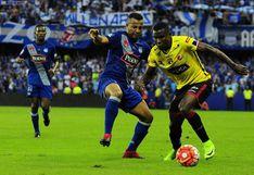 Emelec goleó 3-0 a Barcelona y se quedó con el 'clásico del astillero' de la LigaPro Ecuador