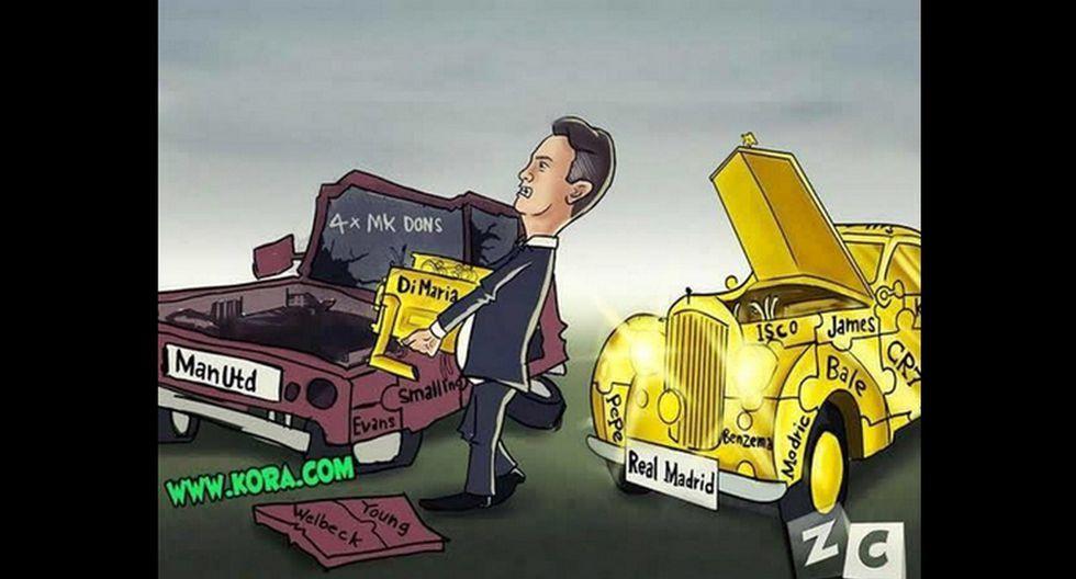 Manchester United: memes contra Van Gaal por sentar a Falcao - 9