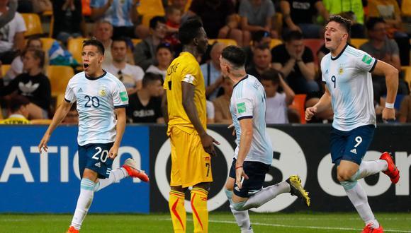 Ezequiel Barco, una de las estrellas del Mundial Sub 20. (Foto: AFP)