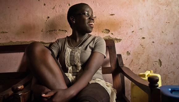 Retrato de Phiona Mutesi en el 2013, cuando tenía 16 años.