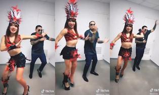 """Josimar se une a la fiebre de """"No sé"""" y baila junto a 'La Uchulú'"""