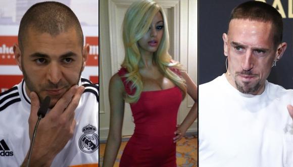 Benzema y Ribéry absueltos en caso de prostituta menor de edad
