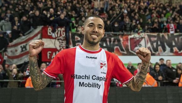 Sergio Peña contó cuál es su cábala antes de cada partido en la Eredivisie. (Foto: Pro Shots)