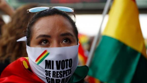 Los partidarios de Mesa denuncian que el gobierno alteró el recuento cuando apuntaba a una segunda vuelta. (Reuters).
