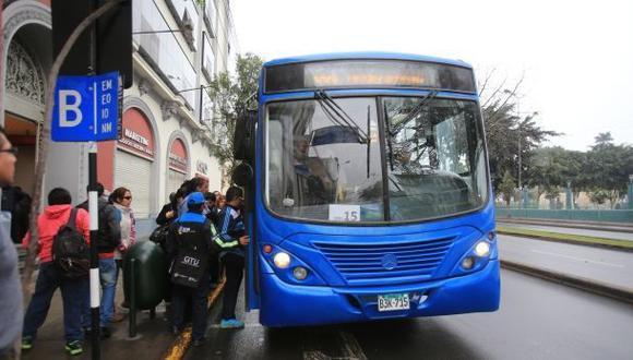 Corredor azul: rutas alimentadoras funcionarán desde quincena